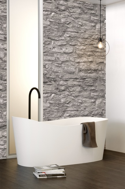 Dossier de presse | 2342-04 - Communiqué de presse | WETSTYLE Launches a Series of Three New Bathtubs - WETSTYLE - Product - Wave bathtub - Crédit photo : WETSTYLE