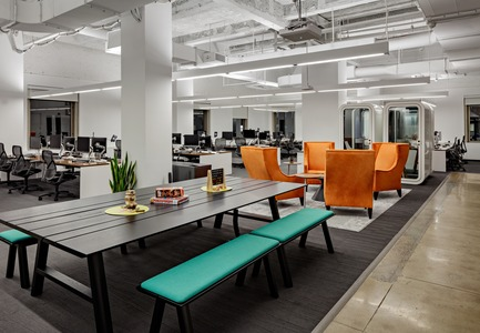 Dossier de presse | 1878-01 - Communiqué de presse | Discover the CoWork Lounge by INFORM Contract and BuzziSpace at IDS Vancouver, Sept 20 to 23 - Inform Contract - Event + Exhibition - Furniture: BuzziPicNic & BuzziPicNic Bench<br><br>Pernod Ricard, New York, US - Crédit photo : Ben Gancsos