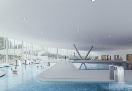 Press kit | 1018-07 - Press release | Leconsortium Metaform / Mecanoo est retenu pour construire le premier vélodrome du Grand-Duché de Luxembourg - Metaform architects - Concours - Centre Aquatique - Photo credit: Mecanoo