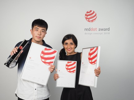Press kit | 2188-03 - Press release | Red Dot Award: Design Concept 2018 Results - Red Dot Award: Design Concept - Competition - Qinhuangdao i-TAOQI Industrial Design for the design concept SRS-Portable Pneumatic Float Bridge - Photo credit: Red Dot Award: Design Concept