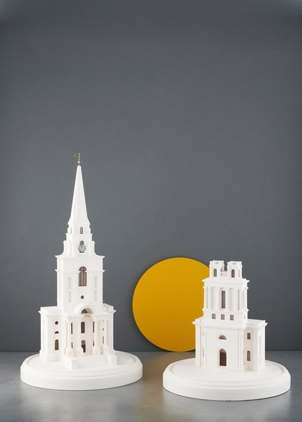 Dossier de presse | 2253-07 - Communiqué de presse | A Small World Filled With Big Ideas - Chisel & Mouse - Product - Nicholas Hawksmoor's Christ Church and St Mary Woolnoth London Churches by Chisel & Mouse - Crédit photo : Chisel & Mouse