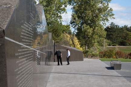 Press kit | 1035-01 - Press release | The Canadian Firefighters Memorial opens in Ottawa - PLANT Architect Inc. - Urban Design - Photo credit: Steven Evans