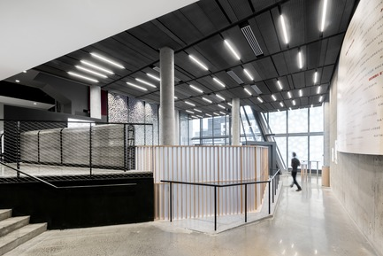 Press kit | 675-13 - Press release | L'Édifice Wilder – Espace Danse Certified LEED NC, Silver - Ædifica - Institutional Architecture -  Edifice Wilder – Espace Danse <br>Joint Venture : Lapointe Magne + Ædifica  - Photo credit: David Boyer