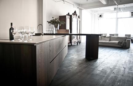 Dossier de presse | 1045-01 - Communiqué de presse | Les cuisines Cesar ont désormais leur point de vente à Montréal - Pure Cuisines - Design industriel - PURE SHOWROOM - Crédit photo : Tuan Hoang Vu