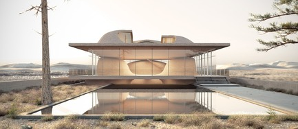 Dossier de presse | 661-48 - Communiqué de presse | World Architecture Festival 2018 – Day Two Winners of International Architectural Awards Announced - World Architecture Festival (WAF) - Competition - Nextoffice were victors in the 'House – Future Projects' category for Guyim Vault House in Shiraz, Iran. - Crédit photo : Courtesy of World Architecture Festival