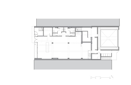 Press kit | 780-05 - Press release | Van Horne - Paul Bernier Architecte - Residential Architecture - Ground floor plan  - Photo credit: Paul Bernier Architecte