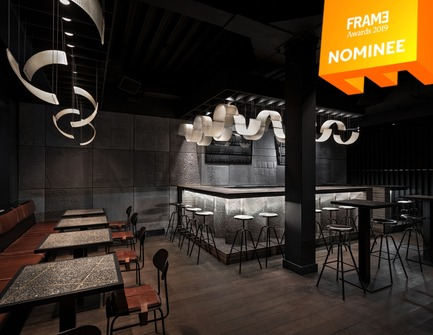 Press kit | 3160-03 - Press release | Announcing the Nominees of the Frame Awards 2019 - Frame - Competition - Best Use of Material<br> - Photo credit: BERLIN BAR, Thilo Reich
