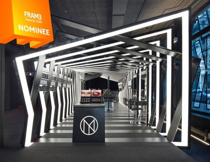 Press kit | 3160-03 - Press release | Announcing the Nominees of the Frame Awards 2019 - Frame - Competition - Pop-up Store of the Year<br> - Photo credit: IL MAKIAGE PAVILION, Zaha Hadid Architects