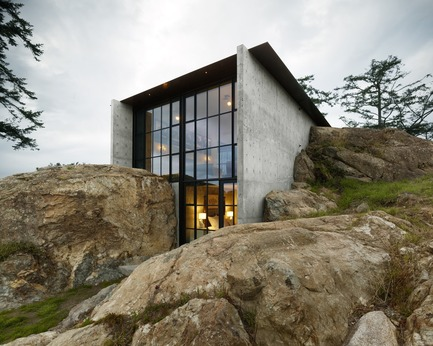 Press kit | 883-04 - Press release | AIA Northwest and Pacific Region Awards 16 projects for design excellence - The American Institute of Architects (AIA) - Competition -  Honor Award <br>The Pierre San Juan Islands, WA<br>Olson Kundig Architects