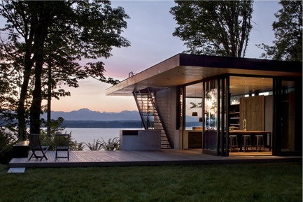 Press kit | 883-04 - Press release | AIA Northwest and Pacific Region Awards 16 projects for design excellence - The American Institute of Architects (AIA) - Competition -  Citation Award<br>Case Inlet Retreat, Case Inlet, WA<br>MW | Works Architecture + Design