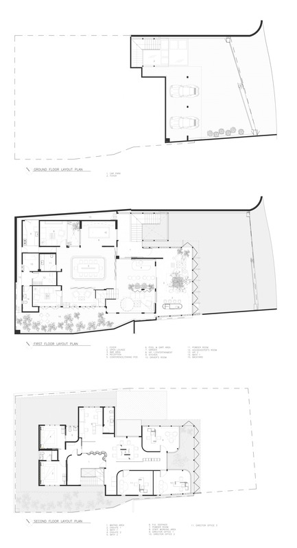 Dossier de presse | 3903-01 - Communiqué de presse | Mantab Workplace - S/LAB10 - Commercial Interior Design - Plans - Crédit photo : S/LAB10