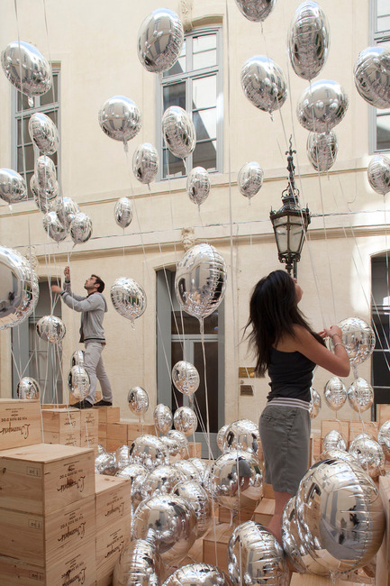 Dossier de presse | 982-03 - Communiqué de presse | The seventh Lively Architecture's Festival, a real success! - Association Champ Libre - Festival des Architectures Vives (FAV) - Event + Exhibition - BYEBYEBALLOON - Crédit photo : Festival des Architectures Vives