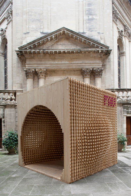Dossier de presse | 982-03 - Communiqué de presse | The seventh Lively Architecture's Festival, a real success! - Association Champ Libre - Festival des Architectures Vives (FAV) - Event + Exhibition - PAVILLON DU FAV - Crédit photo : Festival des Architectures Vives