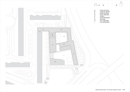 Press kit | 1008-01 - Press release | School complex Lucie Aubrac - Dietmar Feichtinger Architectes - Institutional Architecture