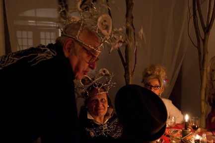 Press kit | 962-01 - Press release | The fantasies of Charles, his table and his guests - Charles Kaisin - Product - Mr & Mme Christine et Micky Boel - Photo credit: Marie-Françoise Plissart