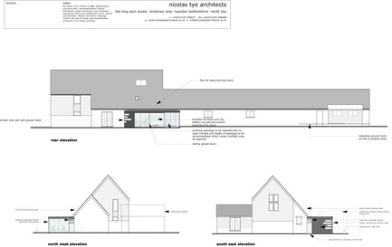 Press kit | 984-01 - Press release | Dovecote Barn - Nicolas Tye Architects - Residential Architecture