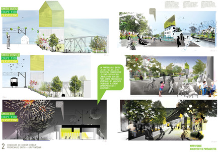 Press kit | 562-14 - Press release | NIPpaysage is the winner of the competition Development of Promenade Smith - Bureau du design - Ville de Montréal - Competition - Photo credit: NIPpaysage