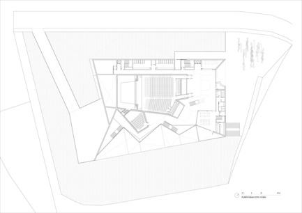 Dossier de presse | 976-01 - Communiqué de presse | Auditorio Municipal de Teulada - Francisco Mangado - Architecture institutionnelle
