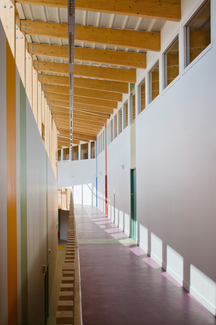 Press kit | 942-01 - Press release | A small school in the Grand Paris - Hubert & Roy architectes et associés - Institutional Architecture - Photo credit: Hérvé, Abbadie photographe