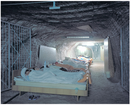 Press kit | 756-04 - Press release | Imperfect Health: The Medicalization of Architecture, - Centre Canadien d'Architecture (CCA) - Edition - Speleotherapy. Breathing In, Mine de sel de Solotvyno, Ukraine, 2009. Kirill Kuletski, photographe.© Kirill Kuletski