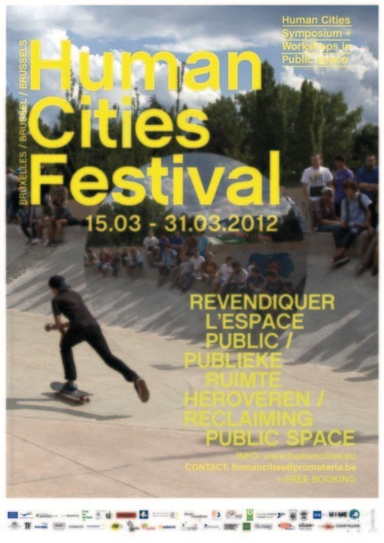 Press kit | 768-02 - Press release | Human Cities Festival 2012 - Pro Materia - Event + Exhibition