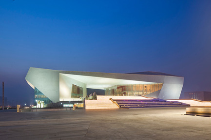 Press kit | 896-01 - Press release | The Shanxi Grand Theater, in Taiyuan (China) - Arte Charpentier Architectes - Institutional Architecture - Photo credit: Shen zhonghai