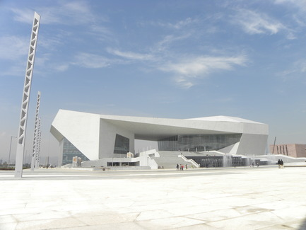 Press kit | 896-01 - Press release | The Shanxi Grand Theater, in Taiyuan (China) - Arte Charpentier Architectes - Institutional Architecture - Photo credit: 3D - Pierre Chambron/ chef du projet