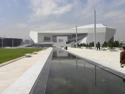 Press kit | 896-01 - Press release | The Shanxi Grand Theater, in Taiyuan (China) - Arte Charpentier Architectes - Institutional Architecture - Photo credit: 3D - Zhou wenyi/ chef du projet