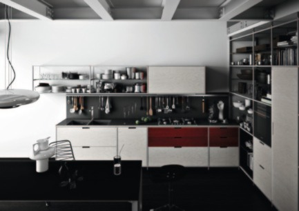 Press kit | 809-10 - Press release | Azure magazine announces the winners of it's 3rd annual AZ Awards - Azure Magazine - Competition - Design - Furniture Systems<br><br>Meccanica Kitchen<br>by Gabriele Centazzo<br>Demode Engineered<br>by Valcucine
