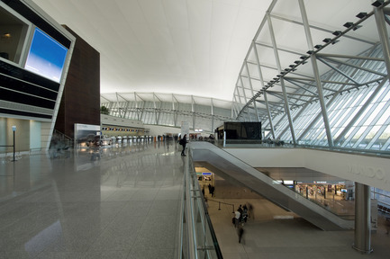 Press kit | 1071-01 - Press release | Architizer A+ Awards winners announced - Architizer - Competition - Carrasco International Airport - Rafael Vinoly Architects - Photo credit: Architizer