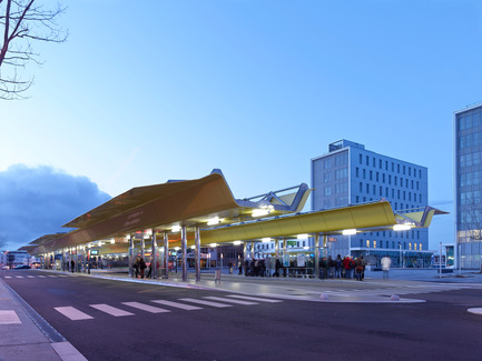 Press kit | 898-05 - Press release | Multimodal Interchange of Saint-Nazaire - Tetrarc - Institutional Architecture - Photo credit: Stéphane Chalmeau