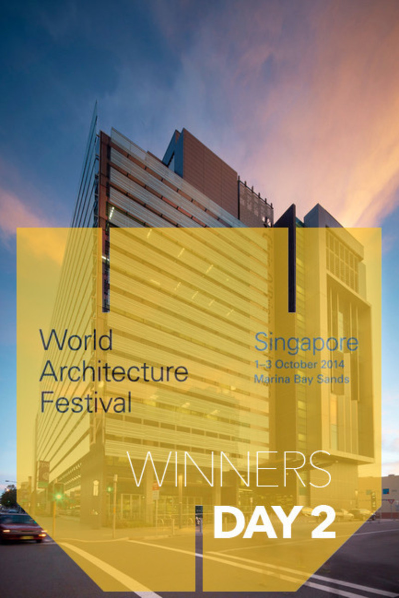 Newsroom - Press release - 2014 Winners announced Day two - World Architecture Festival (WAF)