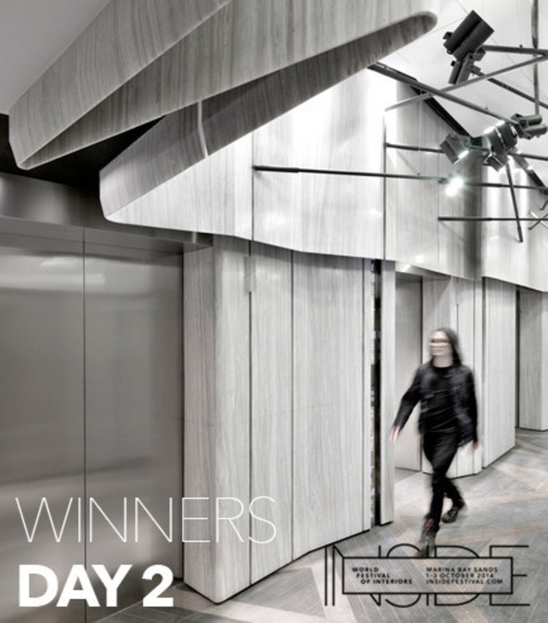 Newsroom - Press release - An office of the future and a cinema inspired by the past are among the winners of premier international interior design awards - INSIDE: World Festival of Interiors