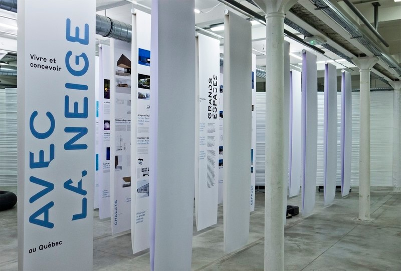Newsroom - Press release - The Maison de l'architecture du Québec and Audiotopie at the Vingt-quatre heures d'architecture in Marseille | Living and designing with the snow in Quebec - Maison de l'architecture du Québec