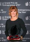 Press kit - Press release - Johanne Bousquet of Chagall Design named EY Entrepreneur Of The Year Québec 2014 Real Estate and Construction award winner - Chagall Design