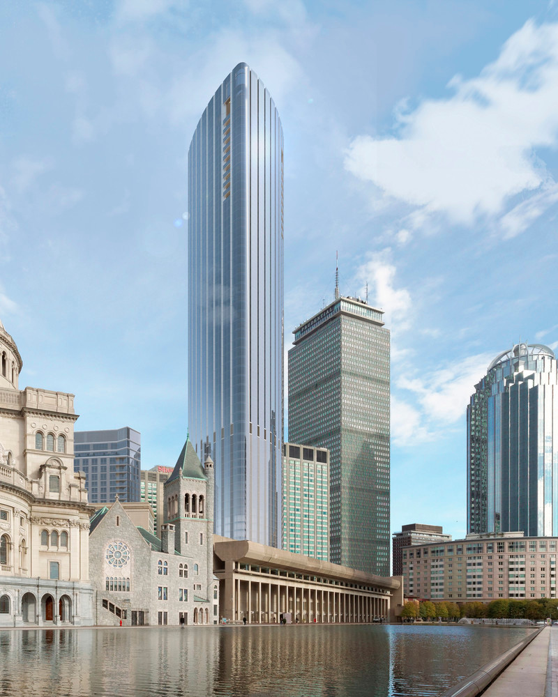 Press kit - Press release - Boston's Tallest Residential Building, Designed by Pei Cobb Freed & Partners, Breaks Ground - Pei Cobb Freed & Partners Architects LLP