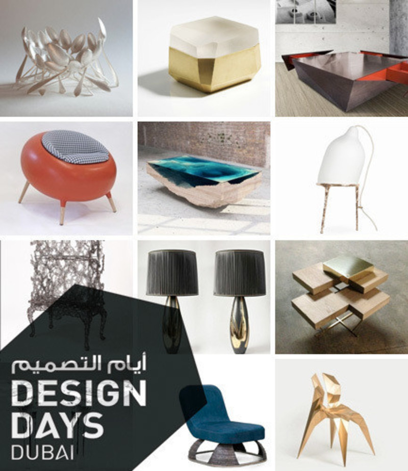 Press kit - Press release - Design Days Dubai 2015 - Gallery Announcement - Design Days Dubai
