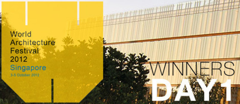 Press kit - Press release - 2012 Winners announcedDay one - World Architecture Festival (WAF)