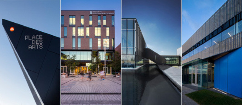 Newsroom - Press release - Four projects shorlisted for the Award for Excellence in Architecture 2013 from theQuebec OrderofArchitects - Menkès Shooner Dagenais LeTourneux Architectes