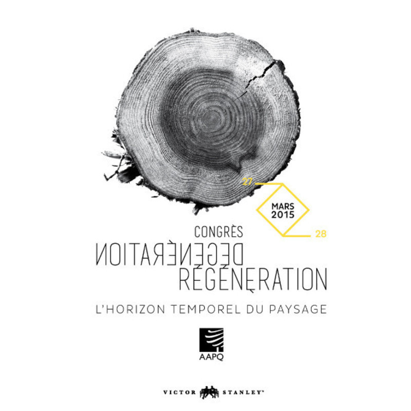 "Newsroom - Press release - AAPQ 50th anniversary congress ""Degeneration / Regeneration, the temporal horizon of landscape"" - L'Association des architectes paysagistes du Québec (AAPQ)"