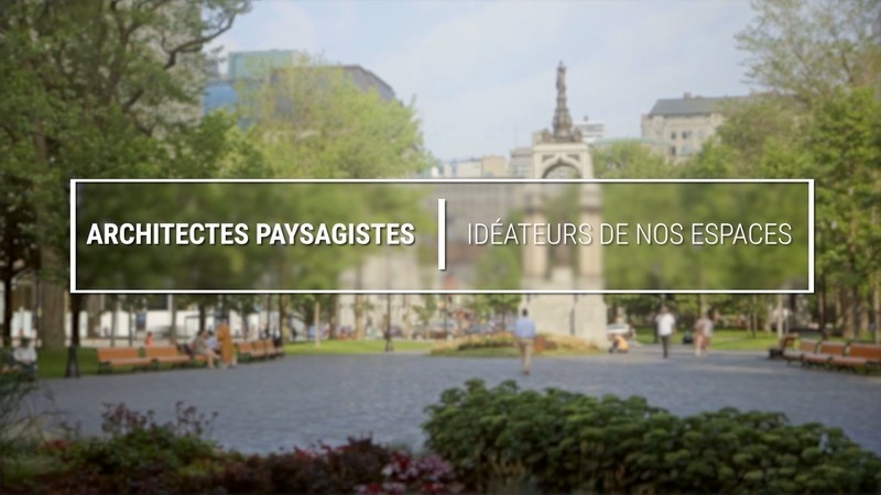 Newsroom - Press release - AAPQ Launches a Video About Landscape Architecture - Association des architectes paysagistes du Québec