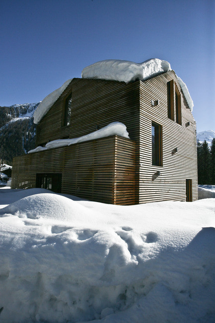 Newsroom - Press release - Chalet Piolet - Chevallier Architectes
