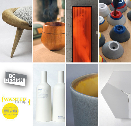 Newsroom - Press release - QC Design at WantedDesign, May 15-18th 2015 - QC Design
