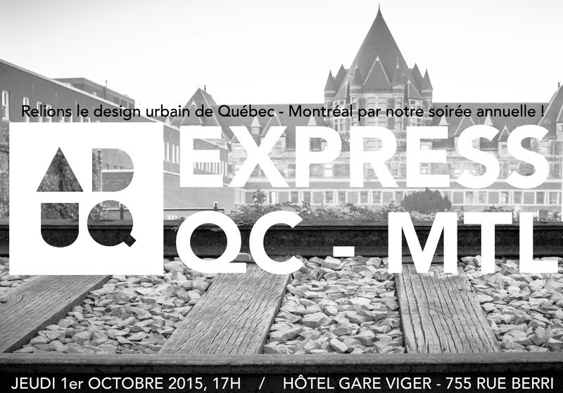 Newsroom - Press release - ADUQ's annual event - Association du design urbain du Québec (ADUQ)