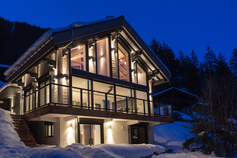 Newsroom - Press release - Chalet 'Dag' in Chamonix - Chevallier Architectes