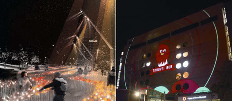 Newsroom - Press release - Luminothérapie competition: and the winners for 2013-14 are… - Bureau du design - Ville de Montréal