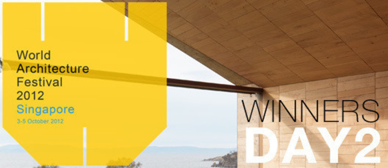 Press kit - Press release - 2012 Winners announcedDay two - World Architecture Festival (WAF)