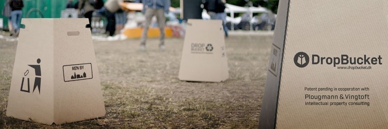 Press kit - Press release - Have these two Danish students reinvented the waste bin? - DropBucket