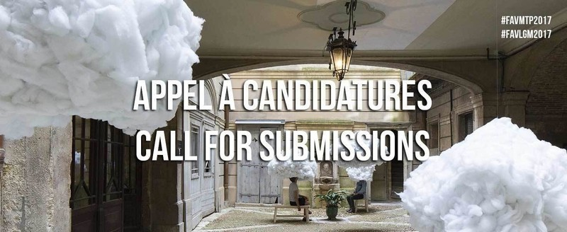 Press kit - Press release - Call for submissions- FAV 2017 - Association Champ Libre - Festival des Architectures Vives (FAV)