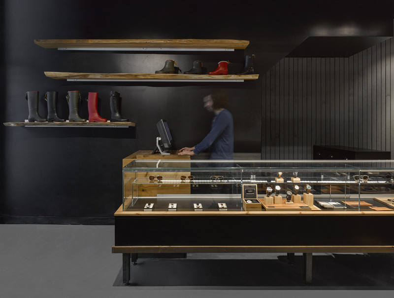Newsroom - Press release - Quadrangle Architects win ARIDO Award for the bespoke retail display system at Due West on Toronto's Queen Street West - Quadrangle Architects Ltd